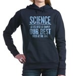 Science At Its Best Womens Hooded Sweatshirt