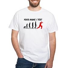 Custom Cricket Evolution (Red) T-Shirt