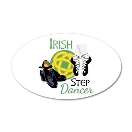 IRISH STEP Dancer Wall Decal