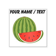 Custom Watermelon Sticker