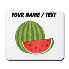 Custom Watermelon Mousepad