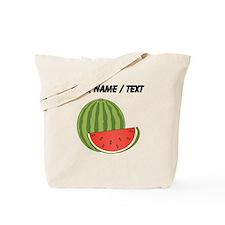 Custom Watermelon Tote Bag