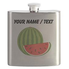 Custom Watermelon Flask