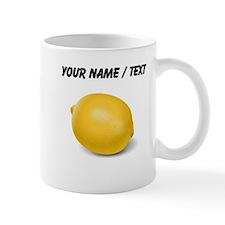 Custom Yellow Lemon Mugs