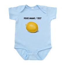 Custom Yellow Lemon Body Suit
