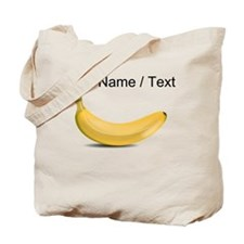 Custom Yellow Banana Tote Bag