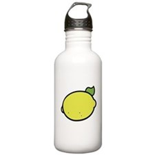 Lemon Drawing Sports Water Bottle