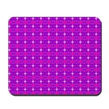 Purple Pink Ornament Mousepad