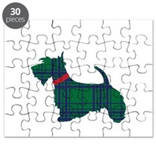Scottish Terrier Dog Puzzle