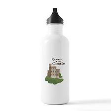 Queen OF THE Castle Water Bottle