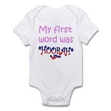 Funny First words Infant Bodysuit