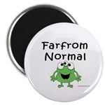FAR FROM NORMAL 3-EYED FROG Magnets
