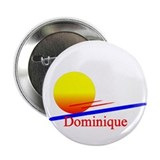 "Dominique 2.25"" Button (10 pack)"