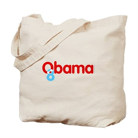 Vote Obama 08 Tote Bag