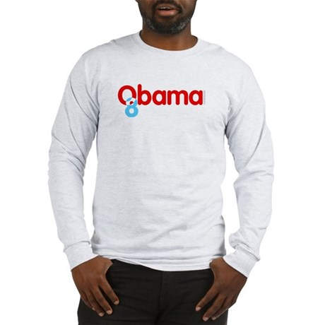 Vote Obama 08 Long Sleeve T-Shirt