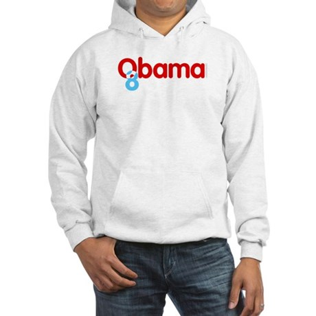 Vote Obama 08 Hooded Sweatshirt