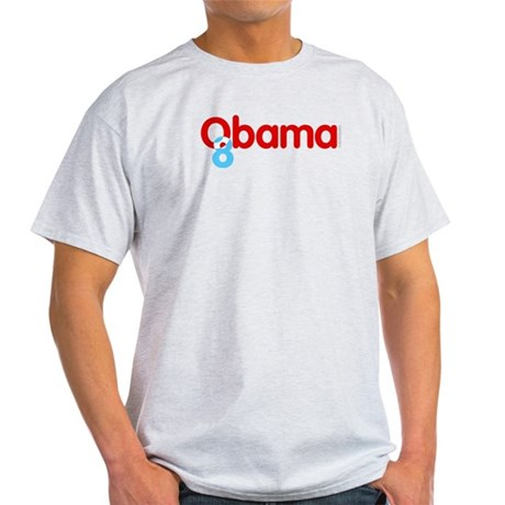 Vote Obama 08 Light T-Shirt