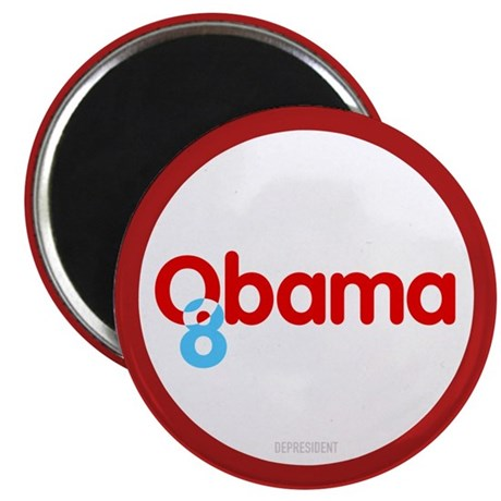 "Vote Obama 08 2.25"" Magnet (10 pack)"
