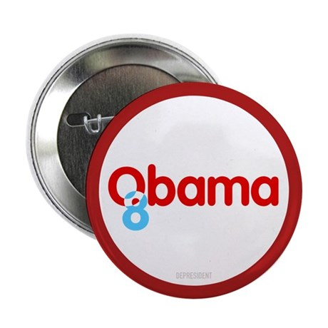 "Vote Obama 08 2.25"" Button (10 pack)"