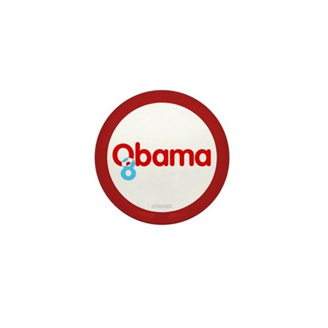 Vote Obama 08 Mini Button (10 pack)