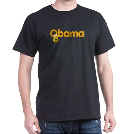 Vote Obama 08 Black T-Shirt