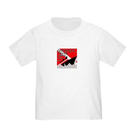 Shipwreck Diver Flag Toddler T-Shirt