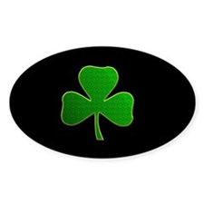 Lucky Irish Shamrock Bumper Stickers