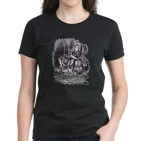 Alice and the Fawn Women's Dark T-Shirt