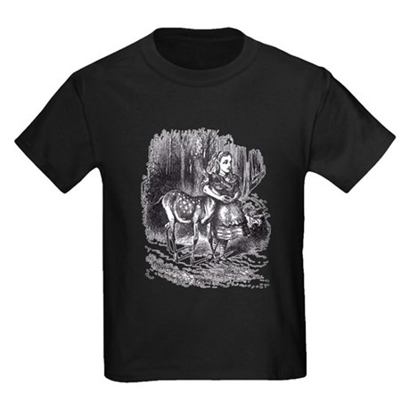 Alice and the Fawn Kids Dark T-Shirt