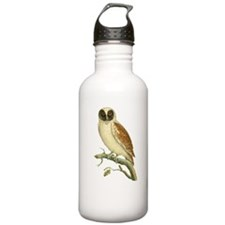Black Masked Owl Water Bottle