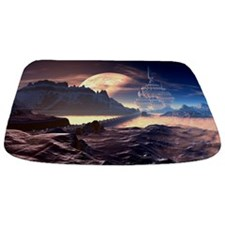 Alien Planet Bathmat
