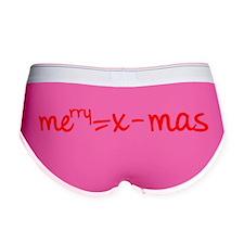 Merry X Mas Women's Boy Brief