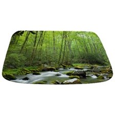 Spring Forest Stream Bathmat