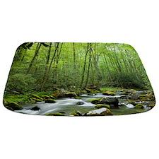 Spring Forest Stream Bathmat