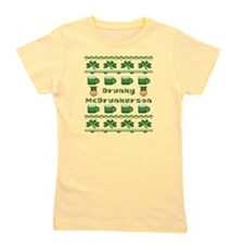 Drunky McDrunkerson St Patricks Day Girl's Tee