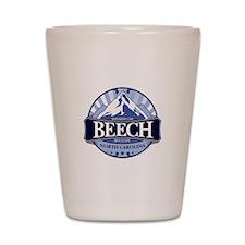 Beech Mountain North Carolina Shot Glass