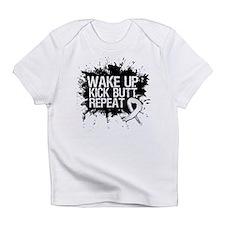 Retinoblastoma Cancer Kick Butt Infant T-Shirt