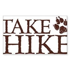 Take a Hike Paw Decal