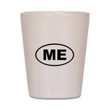 Maine ME Shot Glass