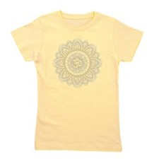 OHM IN MANDALA INDIAN HENNA DESIGN Girl's Tee