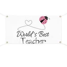 World's Best Teacher Banner