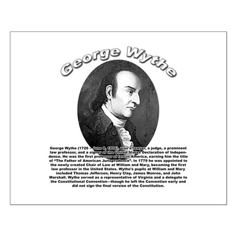 George Wythe 01 Small Poster