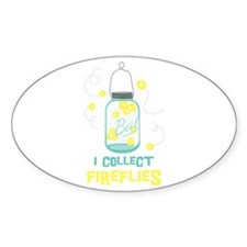 I COLLECT FIREFLIES Decal