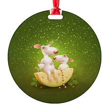 rat chesse Ornament