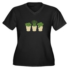 Herb Plants Plus Size T-Shirt
