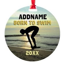CHAMPION SWIMMER Ornament