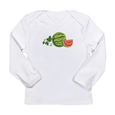Watermelon Vine Long Sleeve T-Shirt