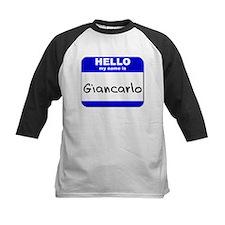 hello my name is giancarlo Tee