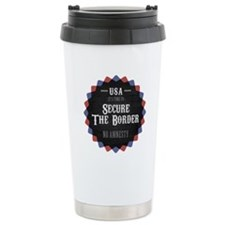 Secure The Border Travel Mug