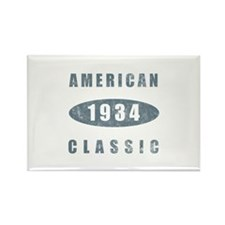 1934 American Classic Rectangle Magnet